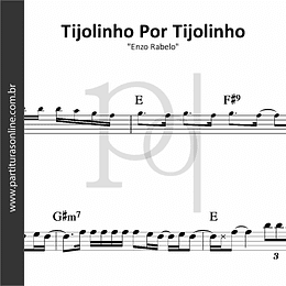 Tijolinho Por Tijolinho | Enzo Rabelo