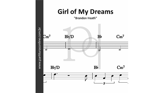 Girl of My Dreams |  Brandon Heath