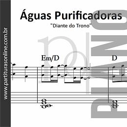 Águas Purificadoras | para Piano