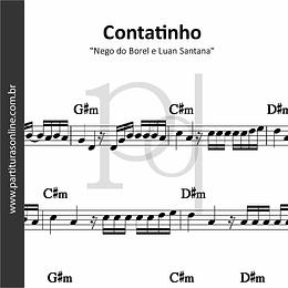 Contatinho | Nego do Borel e Luan Santana