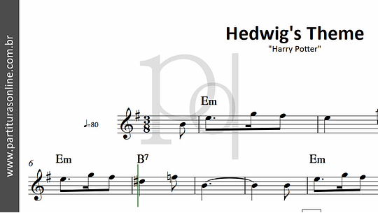 Hedwig's Theme | Harry Potter