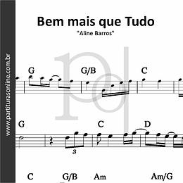 Bem mais que Tudo | Aline Barros