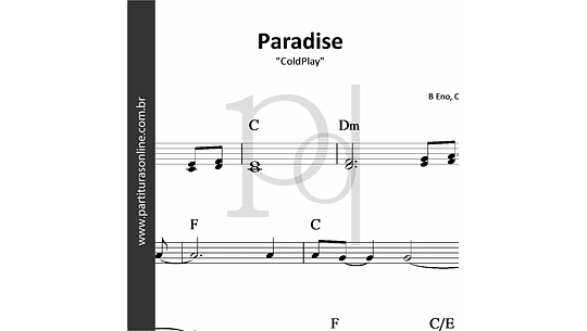 Paradise | ColdPlay