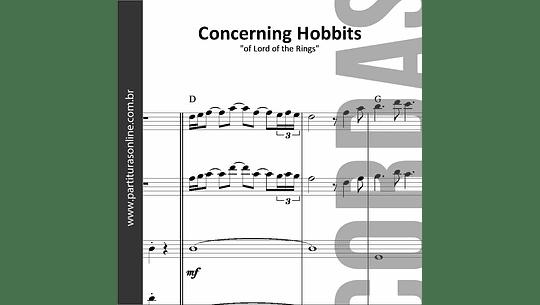 Concerning Hobbits | Quarteto de Cordas