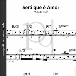 Será que é Amor | Arlindo Cruz