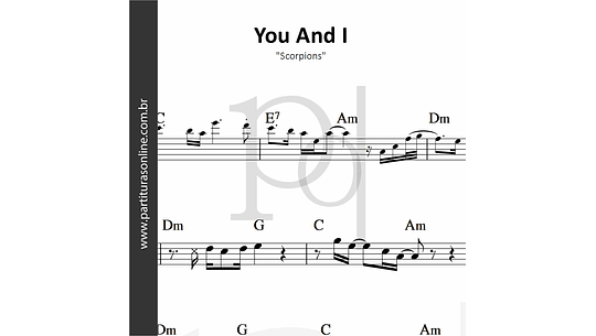 You And I | Scorpions