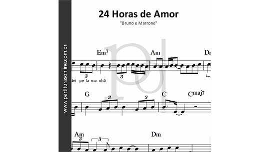 24 Horas de Amor | Bruno e Marrone