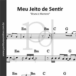 Meu Jeito de Sentir | Bruno e Marrone