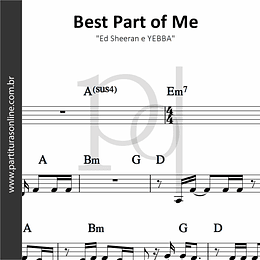 Best Part of Me | Ed Sheeran e YEBBA
