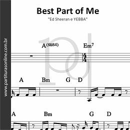 Best Part of Me | Ed Sheeran e YEBBA