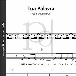Tua Palavra | Paulo César Baruk