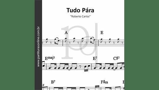 Tudo Pára | Roberto Carlos
