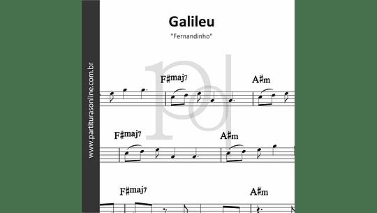 Galileu | Fernandinho