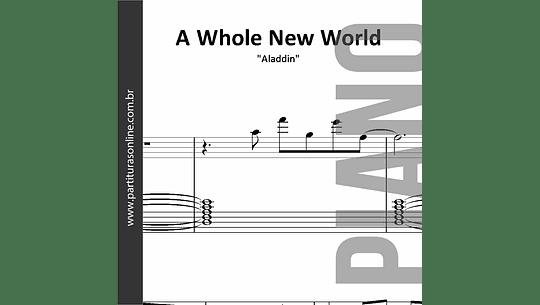 A Whole New World | para Piano