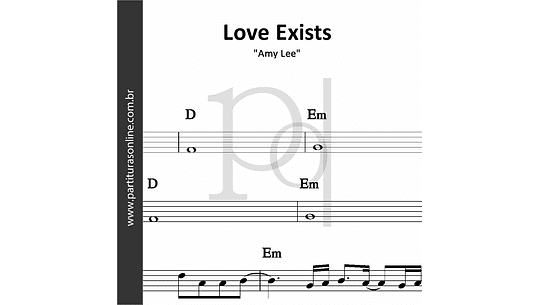 Love Exists | Amy Lee