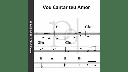 Vou Cantar teu Amor | Padre Fábio de Melo