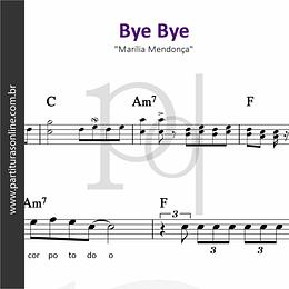 Bye Bye | Marília Mendonça