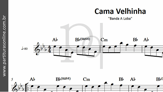 Cama Velhinha   Banda A Loba