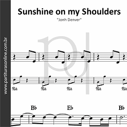 Sunshine on my Shoulders | Jonh Denver