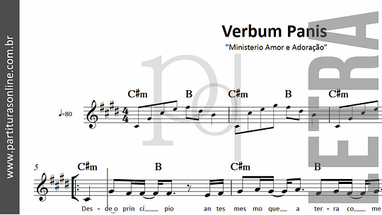 Verbum Panis | Ministerio Amor e Adoração