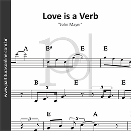 Love is a Verb | John Mayer