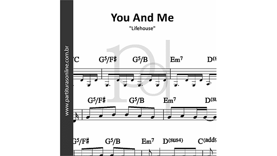 You And Me | Lifehouse