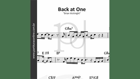 Back at One | Brian McKnight