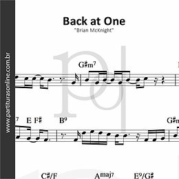 Back at One | Brian McKnight