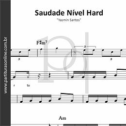 Saudade Nível Hard | Yasmin Santos