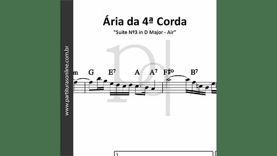 Ária da 4ª Corda   Suite Nº3 in D Major - Air