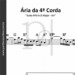 Ária da 4ª Corda | Suite Nº3 in D Major - Air