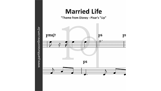 Married Life | Theme from Disney - Pixar's
