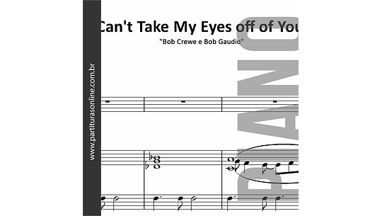 Can't Take My Eyes off of You | para Piano