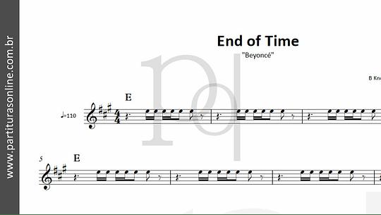 End of Time   Beyoncé