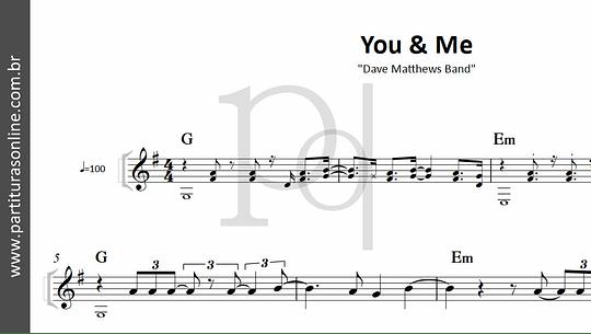 You & Me   Dave Matthews Band