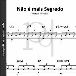 Não é mais Segredo | Marcos Almeida