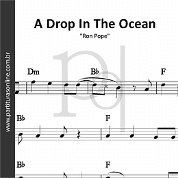 A Drop In The Ocean | Ron Pope