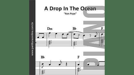 A Drop In The Ocean | para Piano