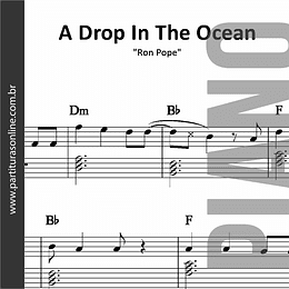 A Drop In The Ocean | para Piano