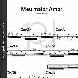 Meu maior Amor | Nívea Soares