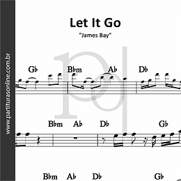 Let It Go | James Bay