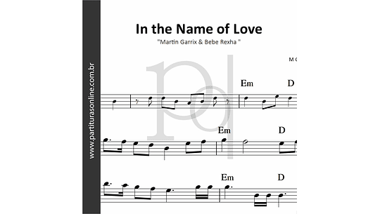 In the Name of Love | Martin Garrix & Bebe Rexha
