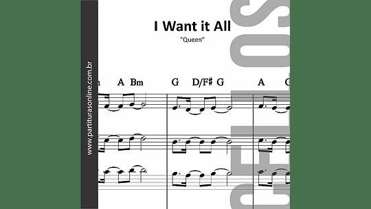 I Want it All | para quarteto de Violoncelos