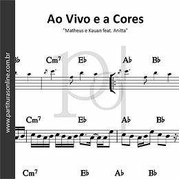 Ao Vivo e a Cores | Matheus e Kauan feat. Anitta