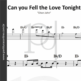 Can you Fell the Love Tonight | Elton John