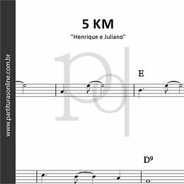 5 KM | Henrique e Juliano