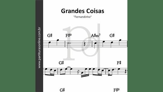 Grandes Coisas | Fernandinho