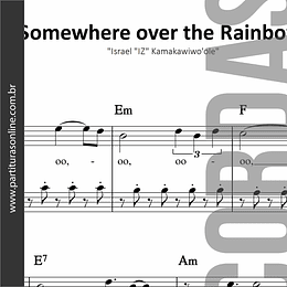 Somewhere Over the Rainbow | para Violino e Violoncelo