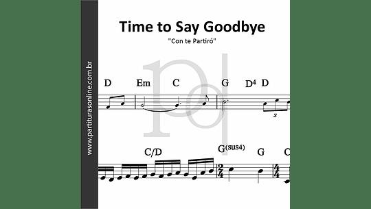 Time to Say Goodbye   Con te Partiró