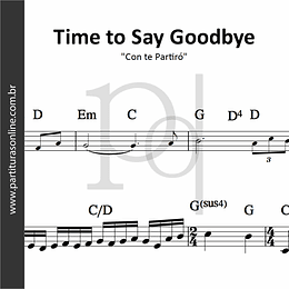 Time to Say Goodbye | Con te Partiró